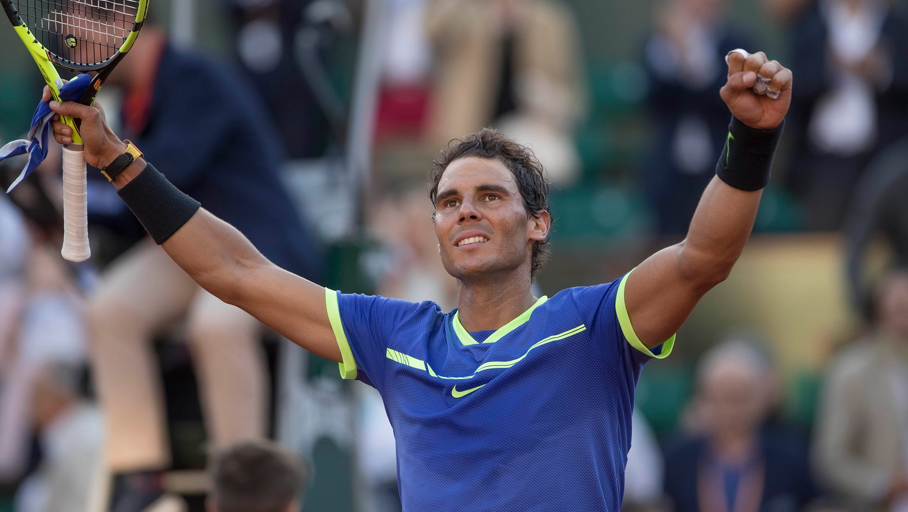 Rafael Nadal Ranking his record nine French Open titles