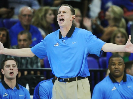 FGCU coach Joe Dooley is doing plenty of teaching and lineup shuffling with his young squad.