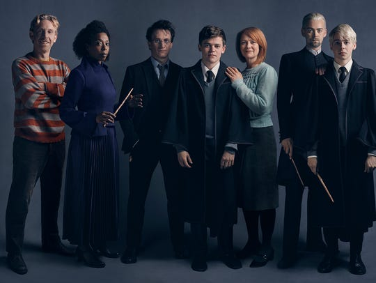 """Harry Potter and the Cursed Child"" Broadway cast,"