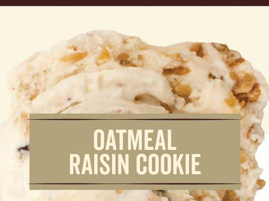 Graeter's third summer Bonus flavor- Oatmeal Raisin Cookie