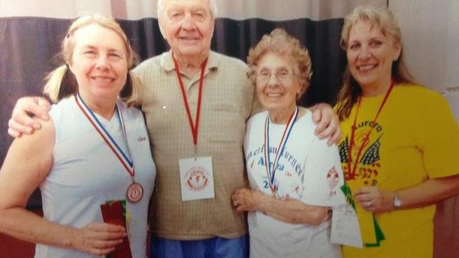 Pictured from left to right: Roxanne St.Pierre, Al Udovich, Carol Udovich and Michelle Lesperance.