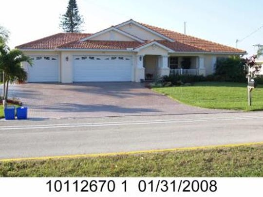 This Cape Coral home at 136 El Dorado Parkway West sold recently for $669,000.