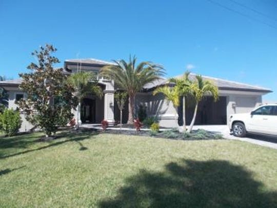This home at 5058 Saxony Court, Cape Coral, recently
