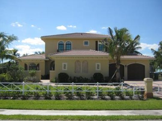 This home at 2138 El Dorado Pkwy W., Cape Coral, recently sold for $1 million.