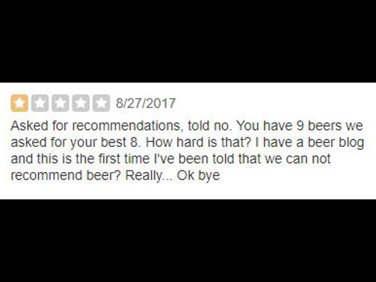 A review of Metazoa Brewing Co.