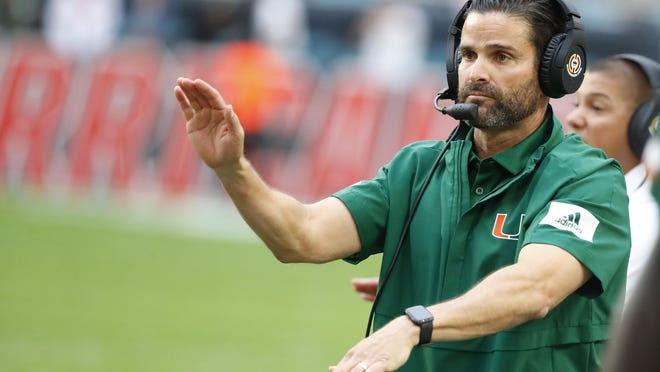 Miami coach Manny Diaz put together the second-best recruiting class in the ACC.