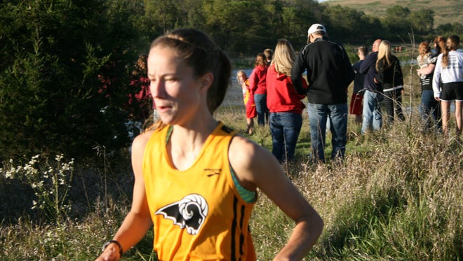 Sierra Mitchell led the Rams to a third-place finish at  the Rams Invitational Oct. 1.