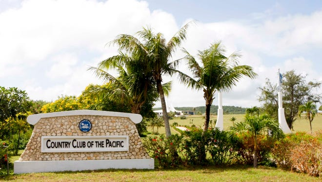 The entrance to the Country Club of the Pacific in Ipan, Talofofo is shown in this file photo.