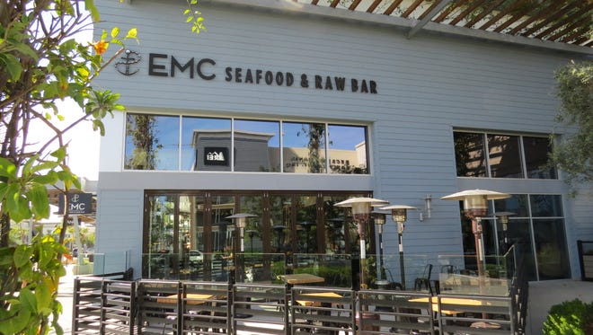 EMC Seafood & Raw Bar is in soft-opening mode at The Collection at RiverPark in Oxnard. A grand-opening ceremony is planned Thursday.