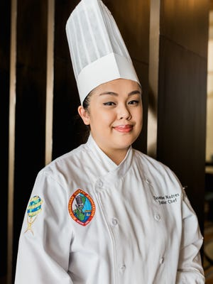 Junior Sous Chef for the Lotte Hotel Guam Jasmine Nadres.