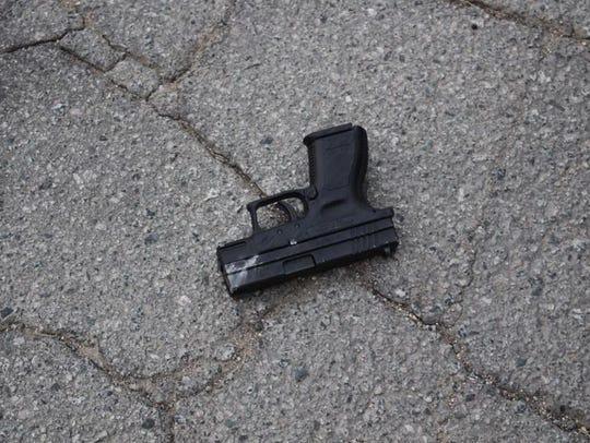 Salinas police seized a stolen gun during a traffic