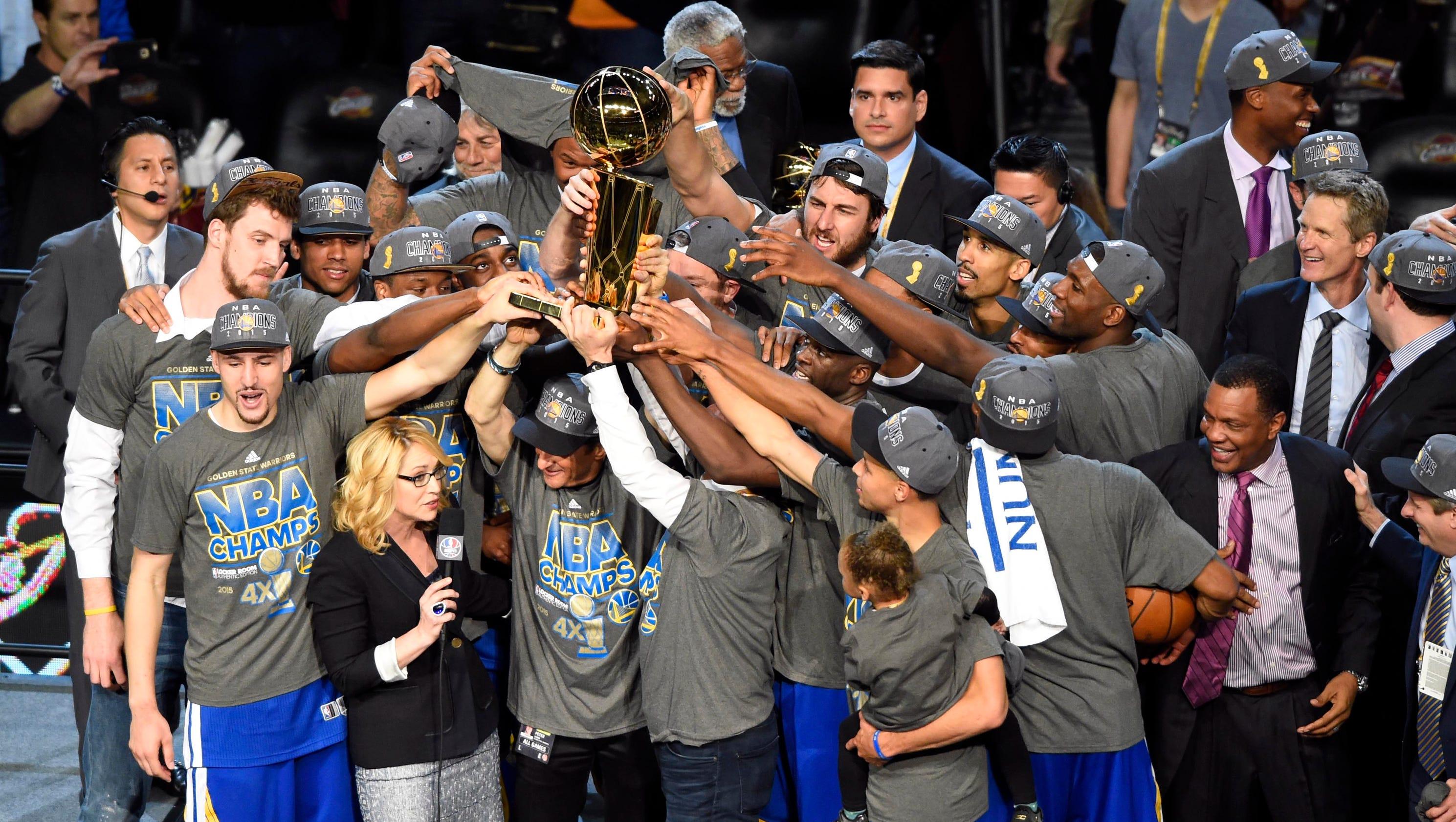 Warriors win NBA title, down LeBron, Cavs 105-97 in Game 6