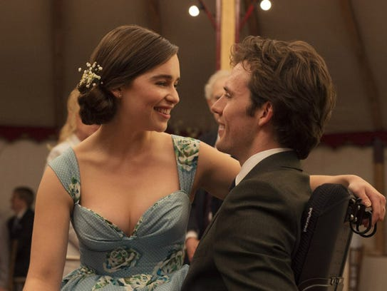 "Emilia Clarke and Sam Claflin in ""Me Before You."" The"