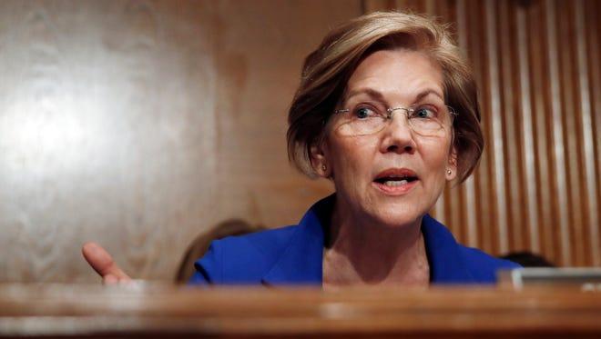 Sen. Elizabeth Warren, D-Mass.