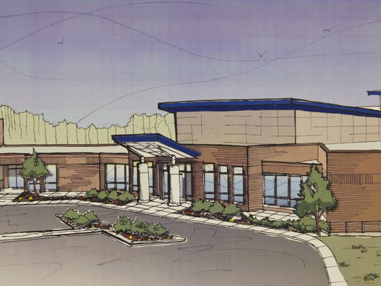 Artist's rendering of the chapel addition at the Salvation Army on Capital Avenue Northeast.
