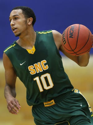 St. Norbert College sophomore guard D.J. DeValk is the team's top returning scorer. The Little Chute native averaged 8.1 points per game and started all 26 games as a freshman.