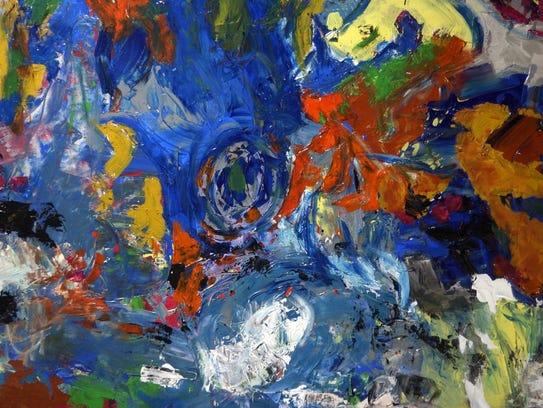 Heady Art Painting