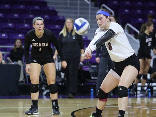 Sophomore Emily Butters has been a steady force at libero in her first two seasons at Missouri State.