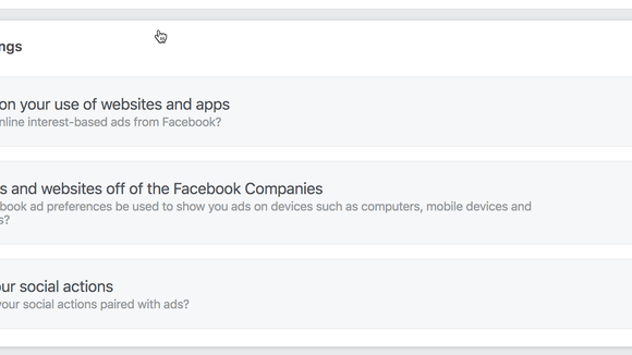 Facebook wants to create ads for you based on websites