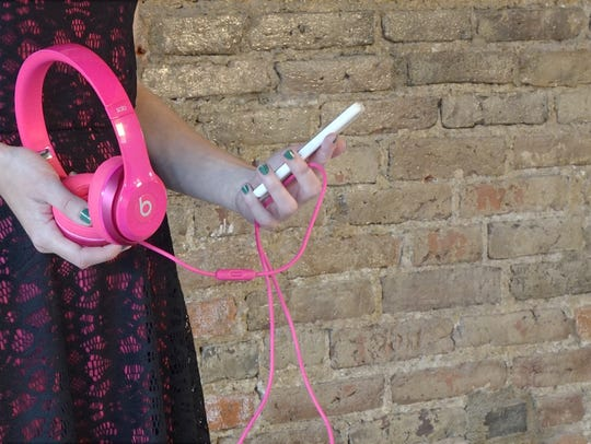 The Beats Solo 2 headphones give you fun, colorful