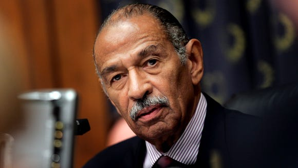 U.S. Rep. John Conyers, D-Mich., seen on Capitol Hill in Washington, D.C., on July 25, 2007.