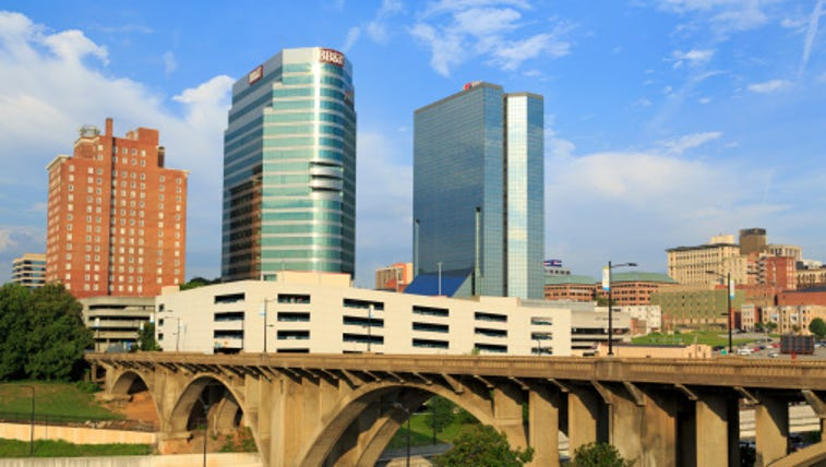 Downtown skyline, Knoxville, Tennessee, United States
