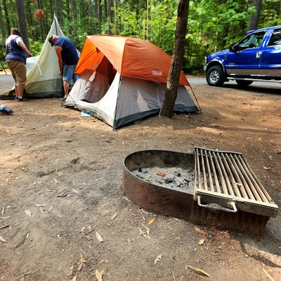 Campfires will be prohibited at sites such as Detroit