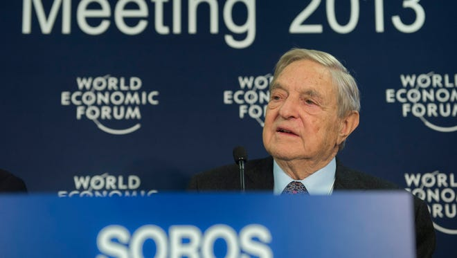 George Soros at an event earlier this year.