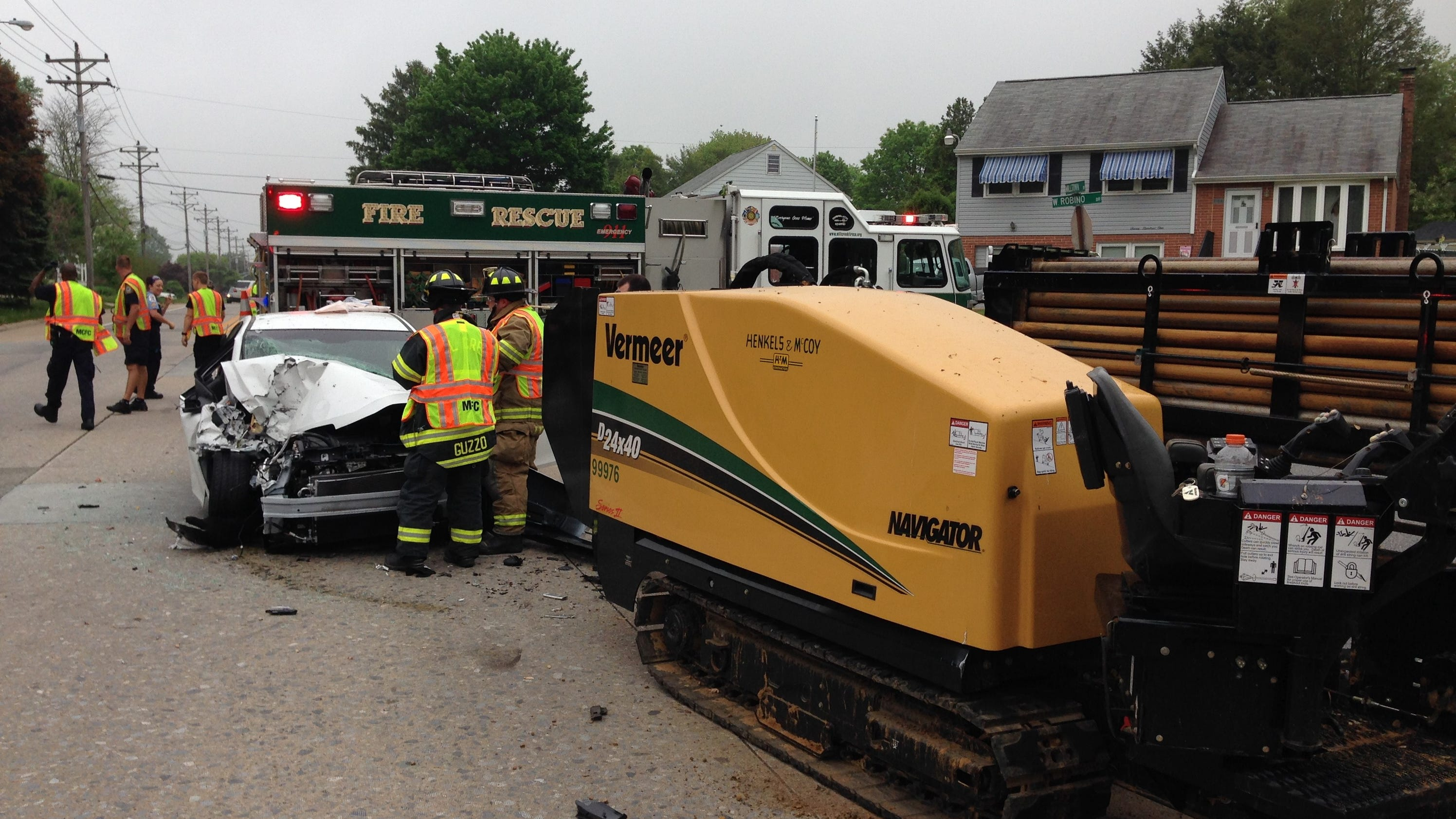 news local woman injured after three vehicle