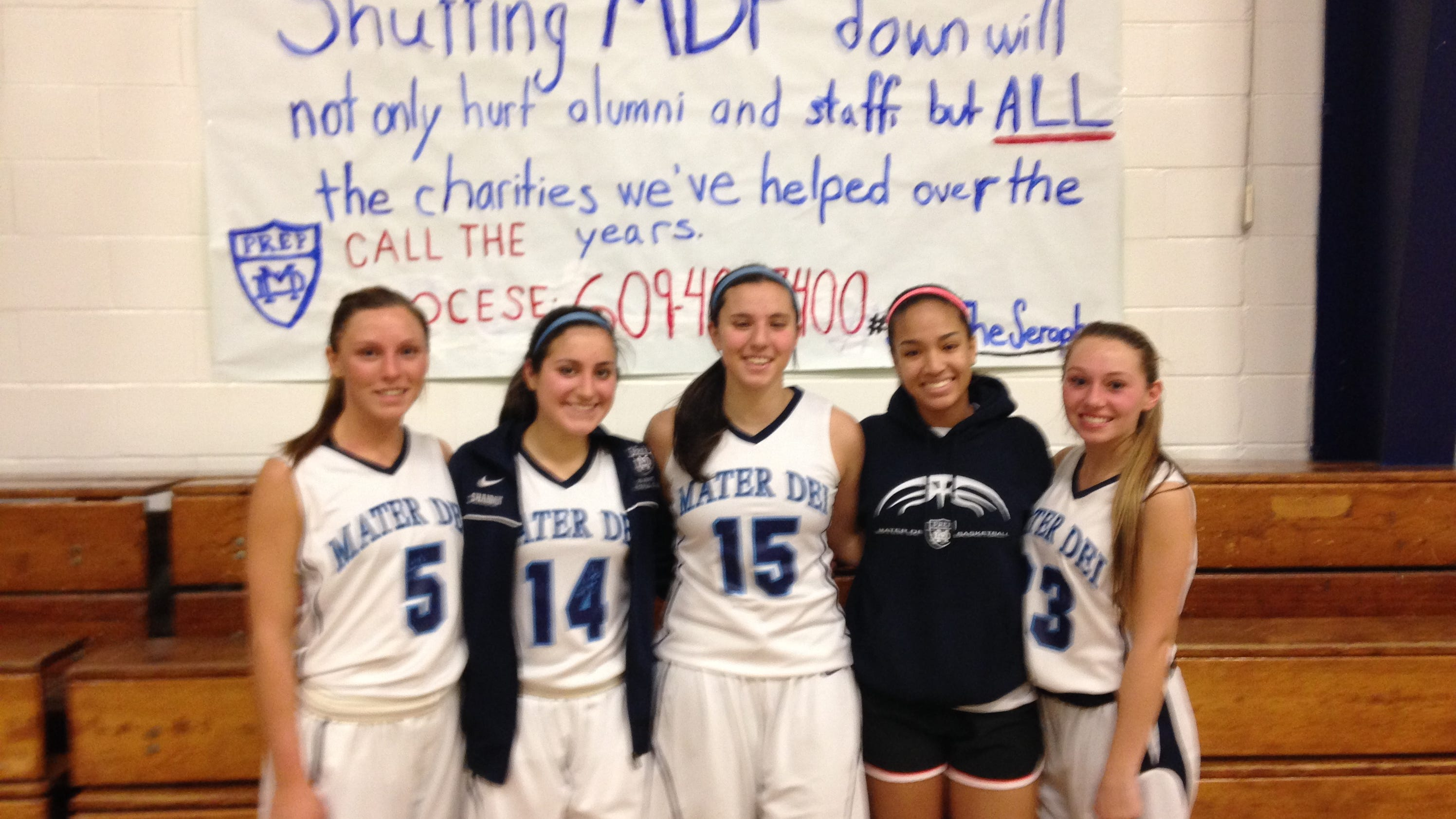 Mater Dei Prep fighting for school on and off the court