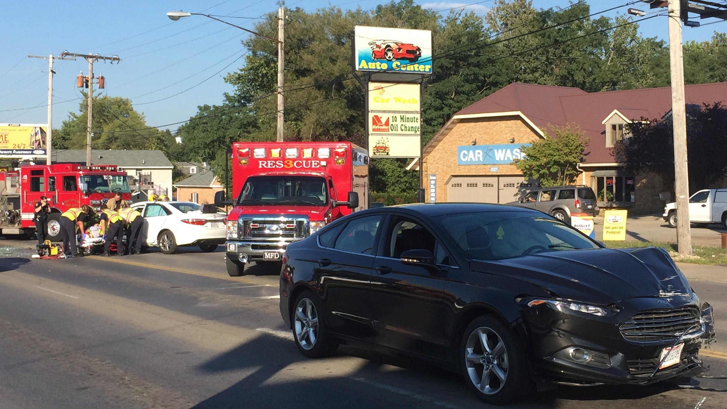 Lexington Car Crash