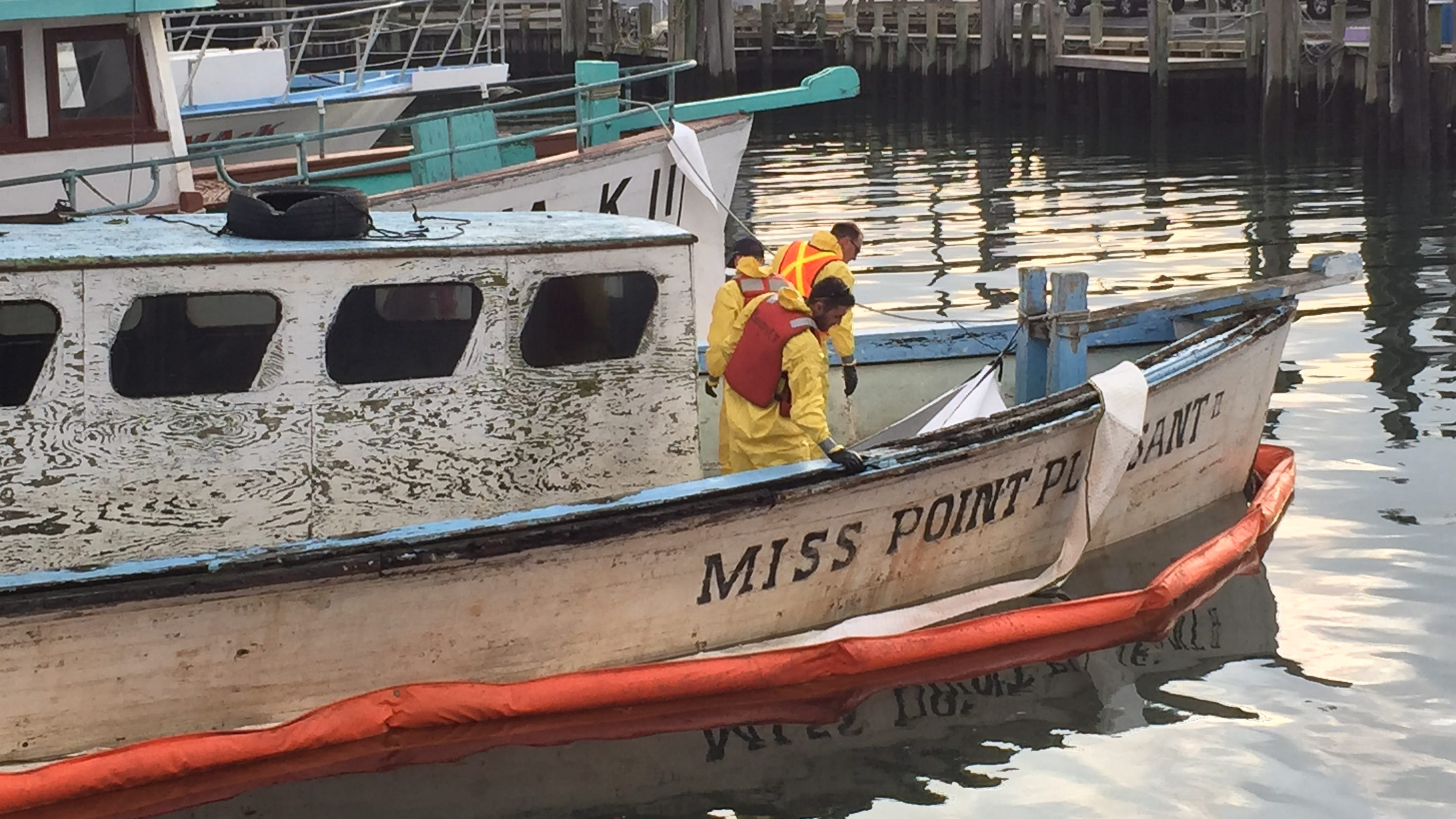 Miss point pleasant ii goes to the graveyard for Point pleasant fishing