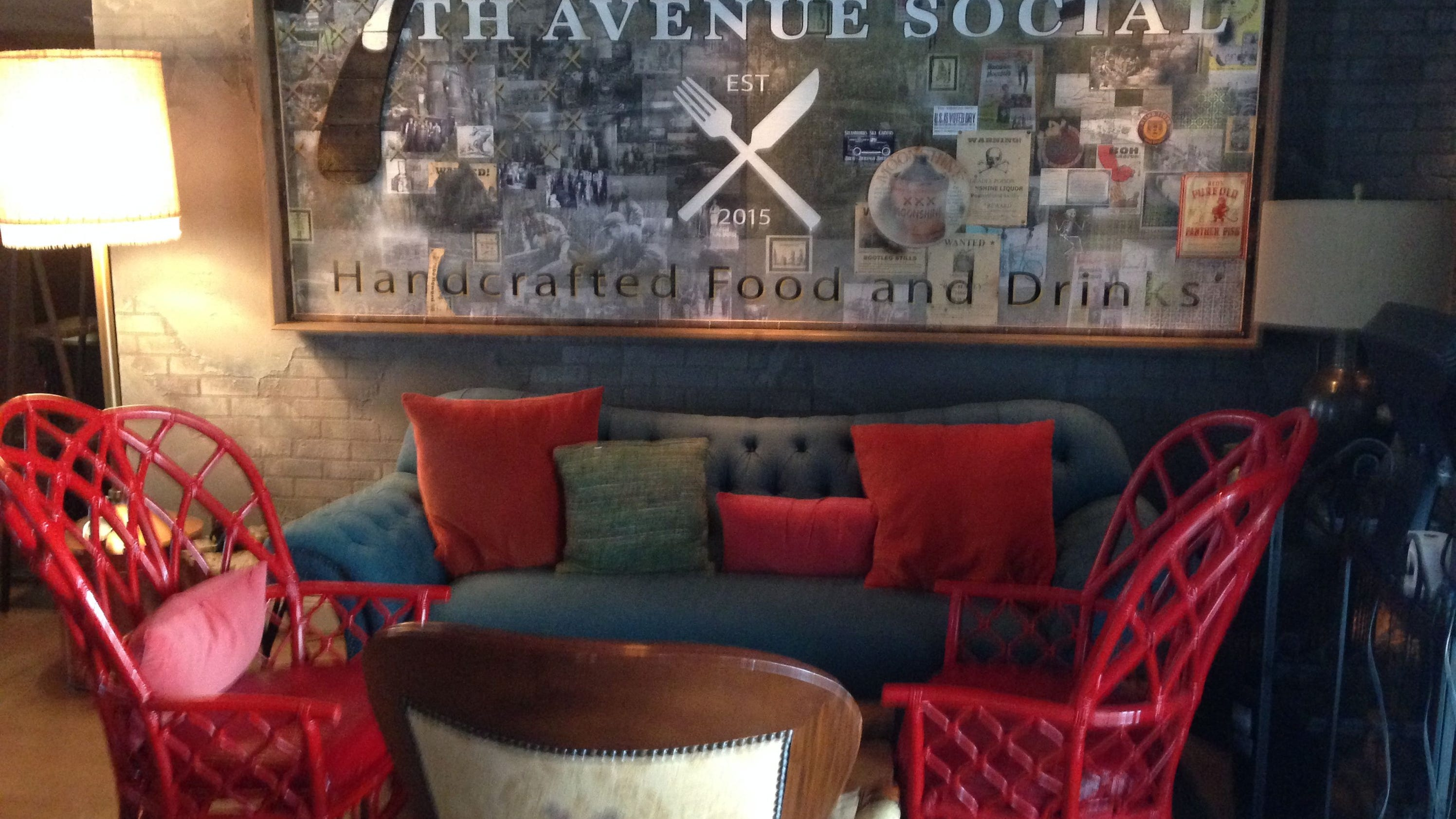 Eclectic food, decor highlight 7th Avenue Social