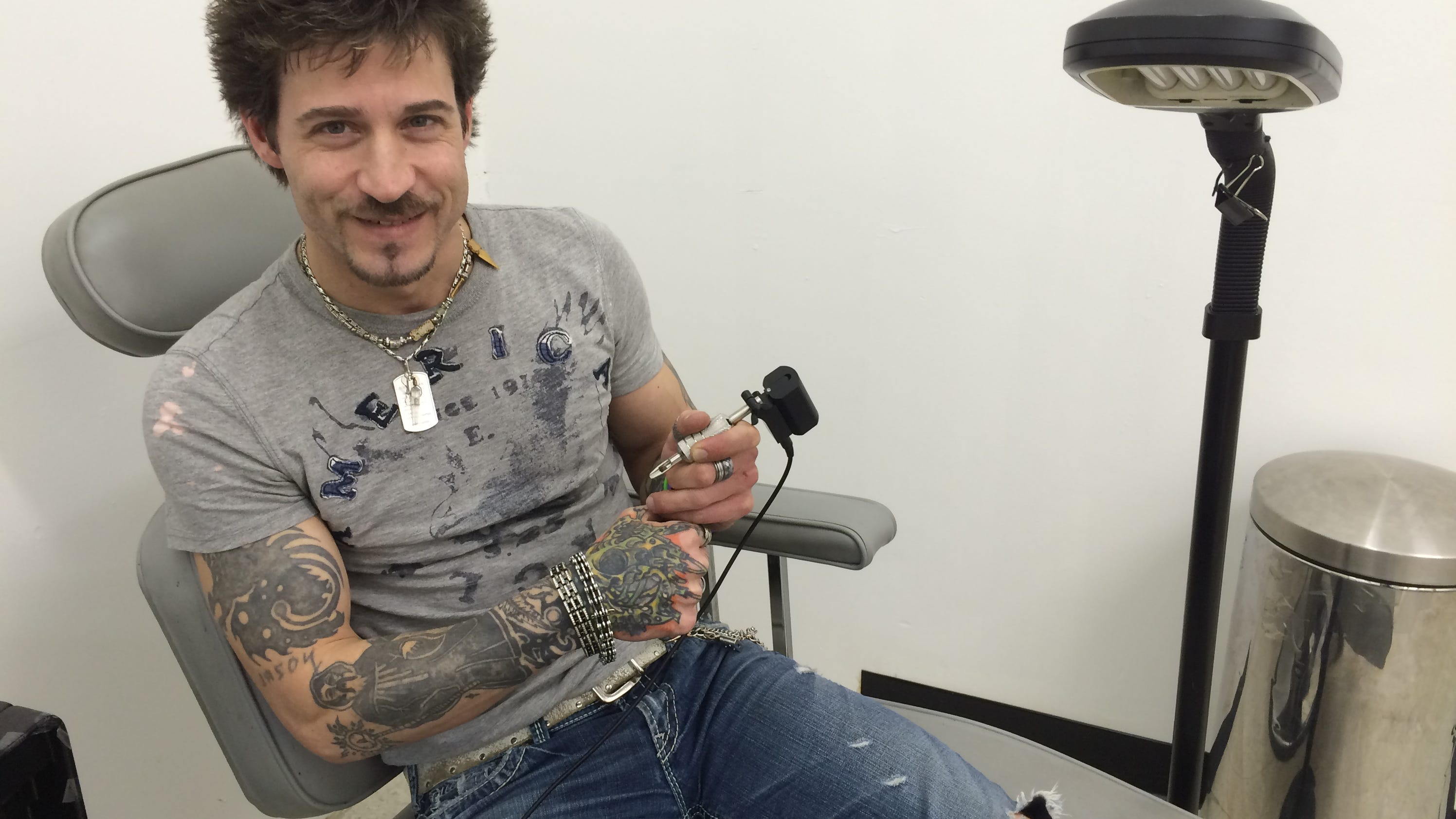 Wisconsin rapids tattoo shop moves to mall location for Tattoo shops in wisconsin