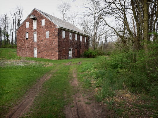 The 224-year-old, 3-story-high Colebrook Mill, with