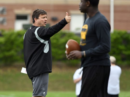 Shannon Dawson is entering his third season as Southern Miss offensive coordinator.