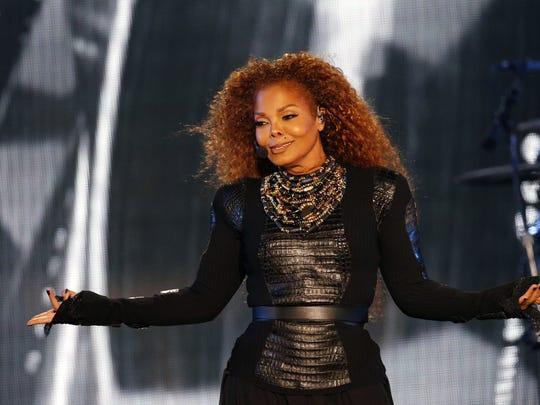 Janet Jackson performs at the BMO Harris Bradley Center