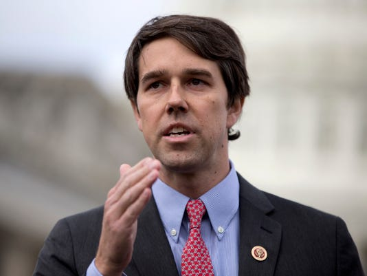 AP SENATE 2018-TEXAS O'ROURKE A FILE USA DC