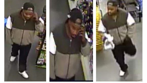 Pensacola police are looking for the man who held up a Dollar General on Tuesday, May 23.
