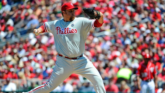 Aaron Harang's ERA is 1.93, and he's made nine quality starts in 10 outings this season.