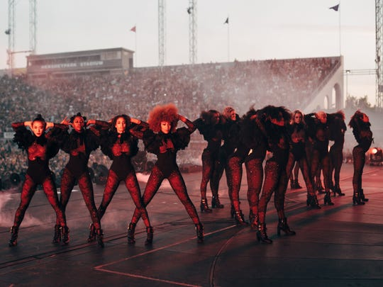 Beyonce performs during the Formation World Tour at Hershey Park Stadium on Sunday, June 12, 2016, in Hershey, Pa.