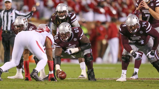 Mississippi State will enter next season without a clear starter at center.