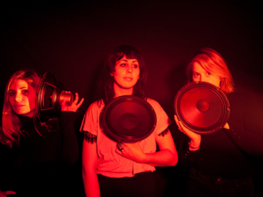 Sharkmuffin, a female indie-rock trio from Brooklyn and the Jersey Shore, will celebrate their latest release on Asbury Park-based Little Dickman Records on March 4 at Asbury Park Yacht Club.