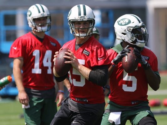 7ba7a9b216d 5 takeaways from Jets minicamp, including Sam Darnold and Terrelle Pryor