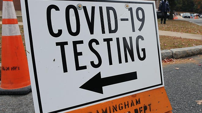 The state reported 1,128 new positive coronavirus cases on saturday, the most for any day in Massachusetts since May 16.