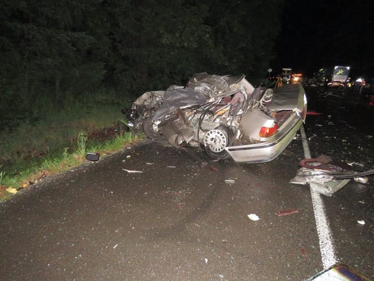 A Honda Accord driven by Oscar Carrillo crossed the centerline on Highway 22 Monday night. Carrillo died in the crash.