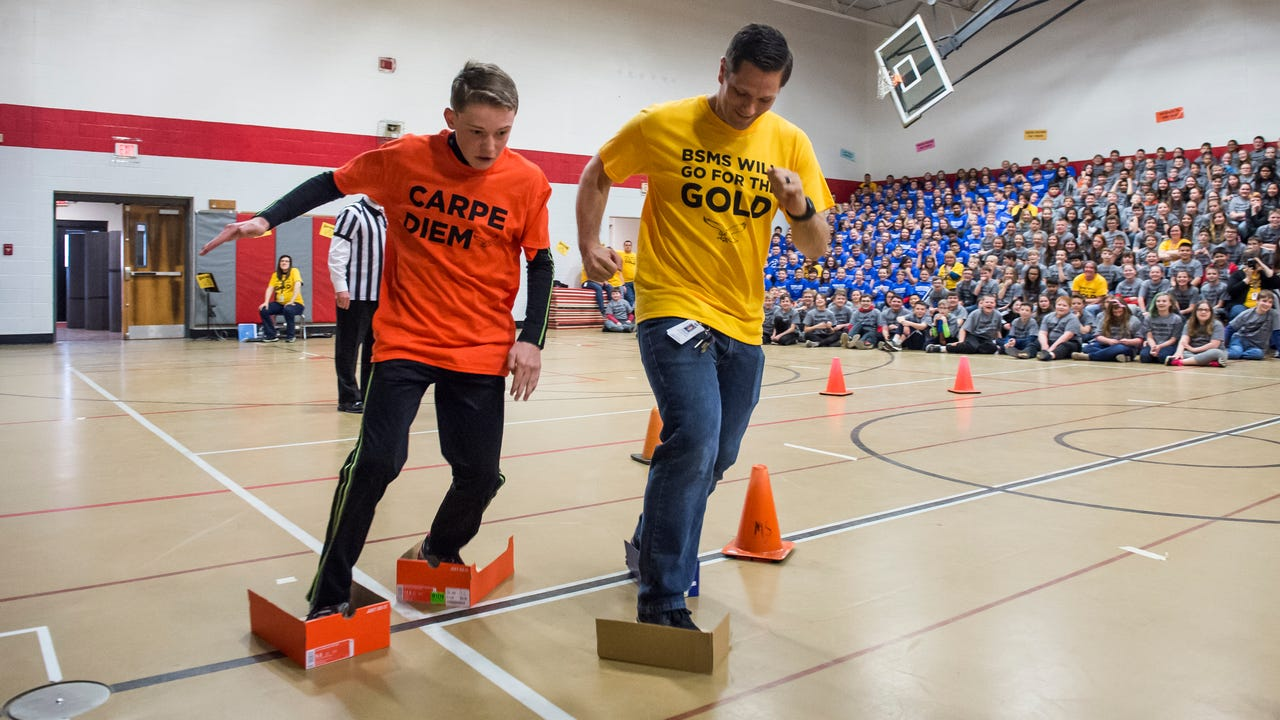 BSMS held its seventh annual assembly that helps motivate and encourage students before they take the PSSA exams.