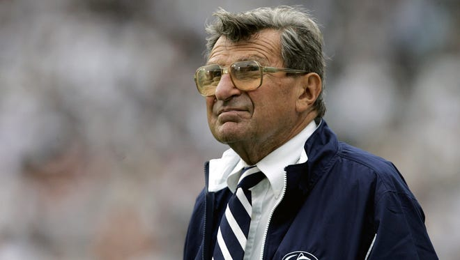 White House communications director Anthony Scaramucci referenced the late Joe Paterno during an interview on Thursday.