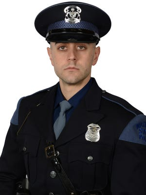 Michigan Gov. Gretchen Whitmer ordered state and U.S. flags be lowered to half-staff on Thursday, Aug. 6, to honor Michigan State Police Trooper Caleb Starr, who died on July 31 following a crash three weeks prior.