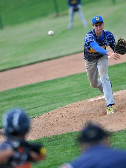 Baseball: Div II Sectionals Galion at Ontario